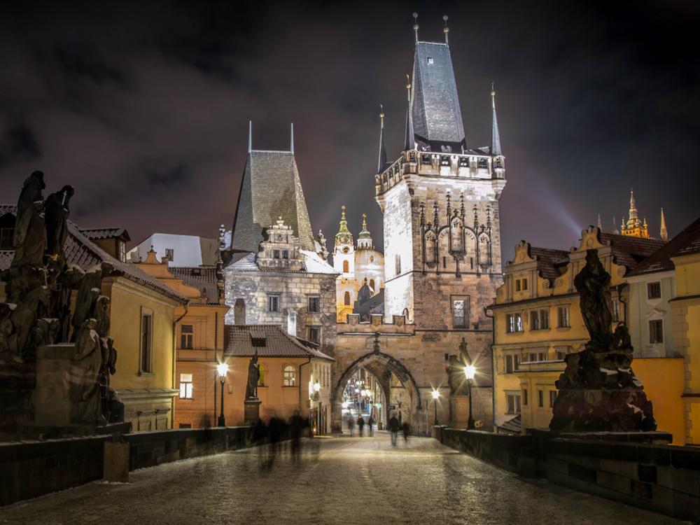 Praga i skalne miasto