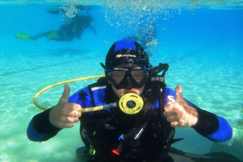Nurkowanie z akwalungiem