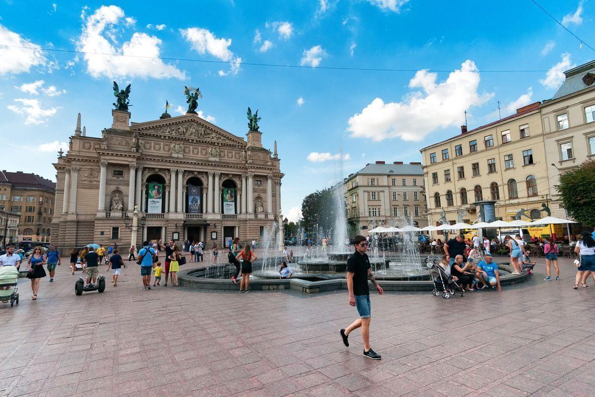 Lwów - jedyne takie miasto