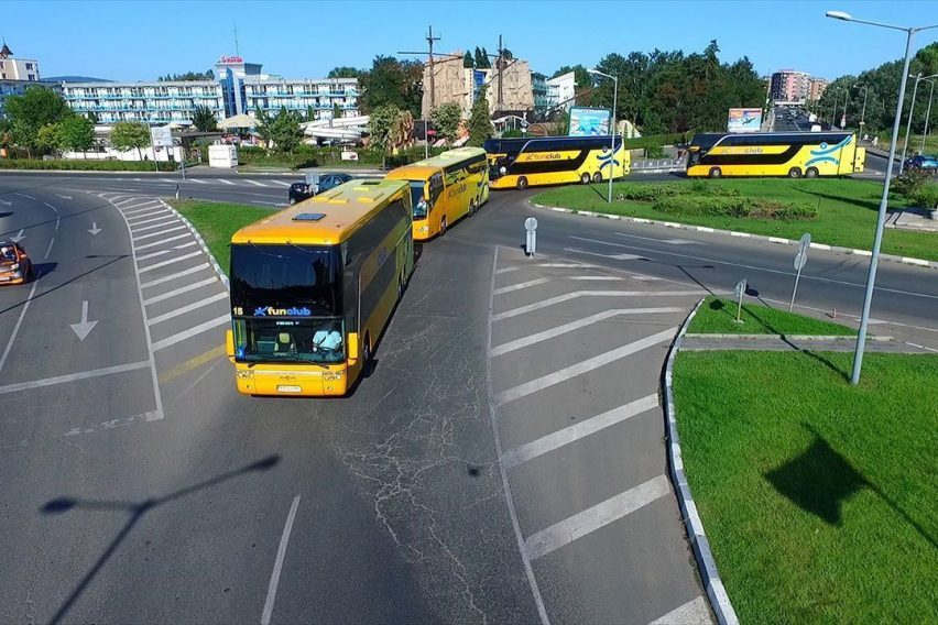 Transport Polska-Bułgaria Złote Piaski-Polska