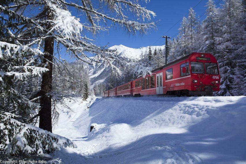 Rhaetische Bahn: Oberengadin