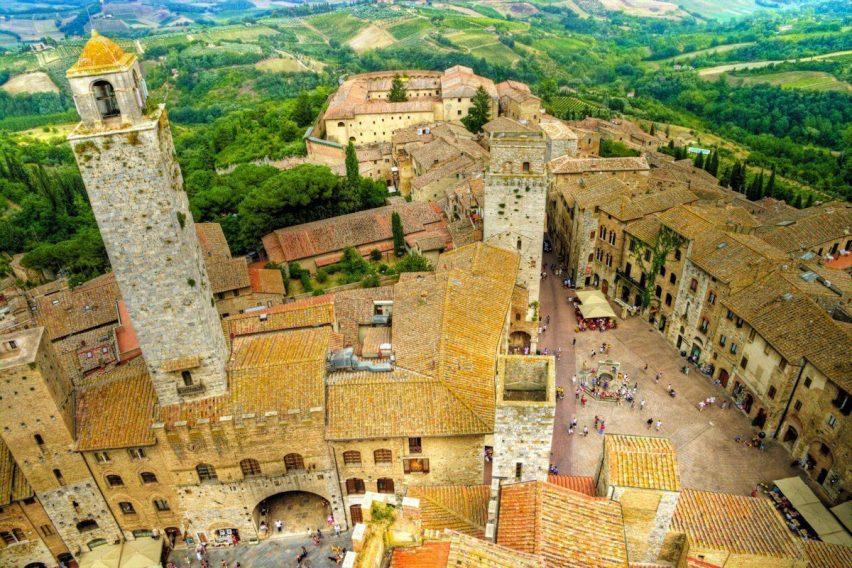 zwiedzanie objazdowe włochy magia toskanii val d'orcia siena san gimignano portoferraio piza luka vento florencja funclub-22