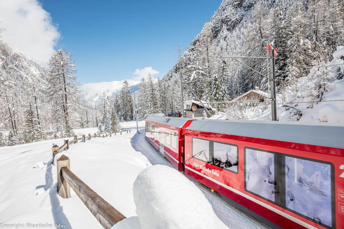 Szwajcaria - świąteczne piękno w miniaturze