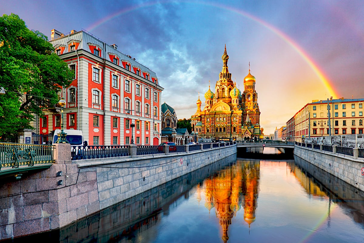 Sankt Petersburg i kraje bałtyckie