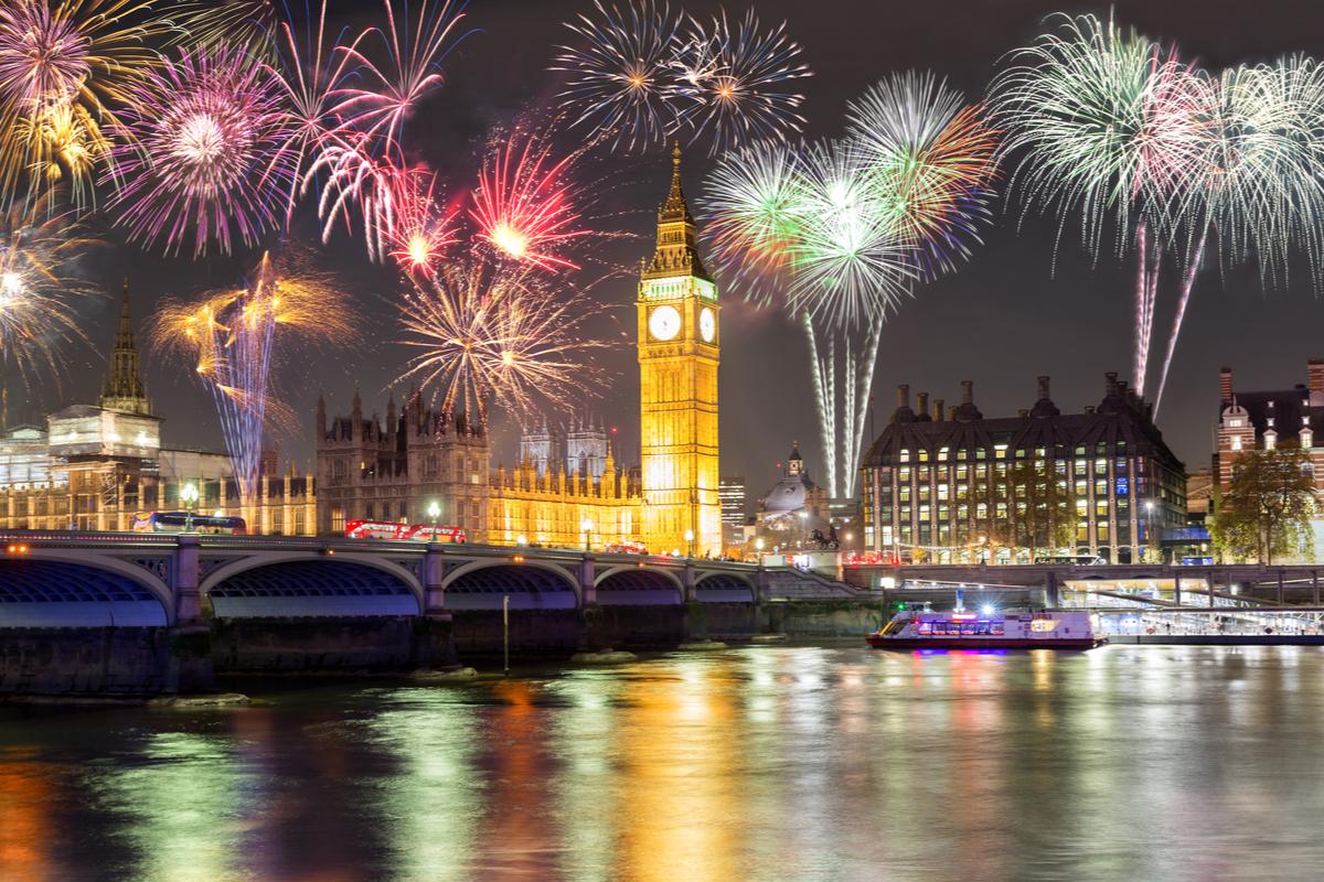 Londyn - Sylwester na Wyspach Brytyjskich