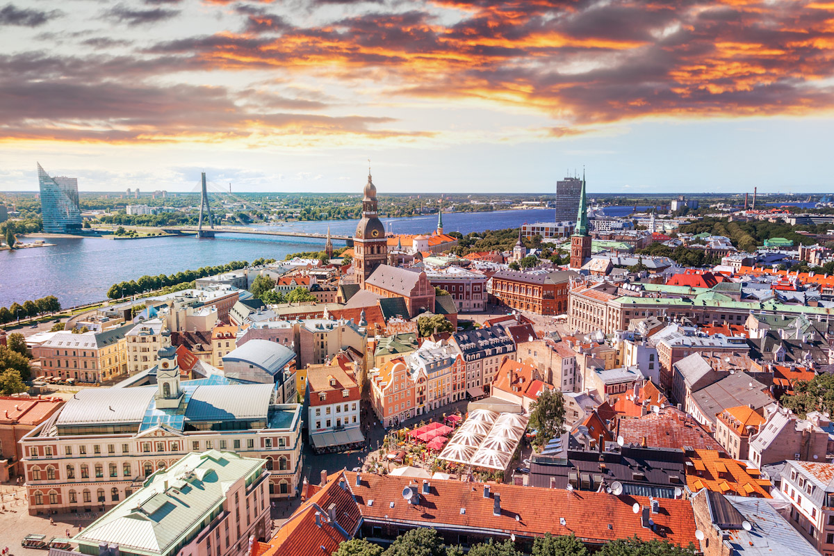 Ryga i Sztokholm promem, czyli tam i z powrotem