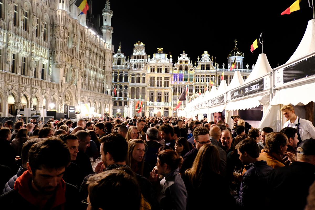 Bruksela - festiwal piw belgijskich