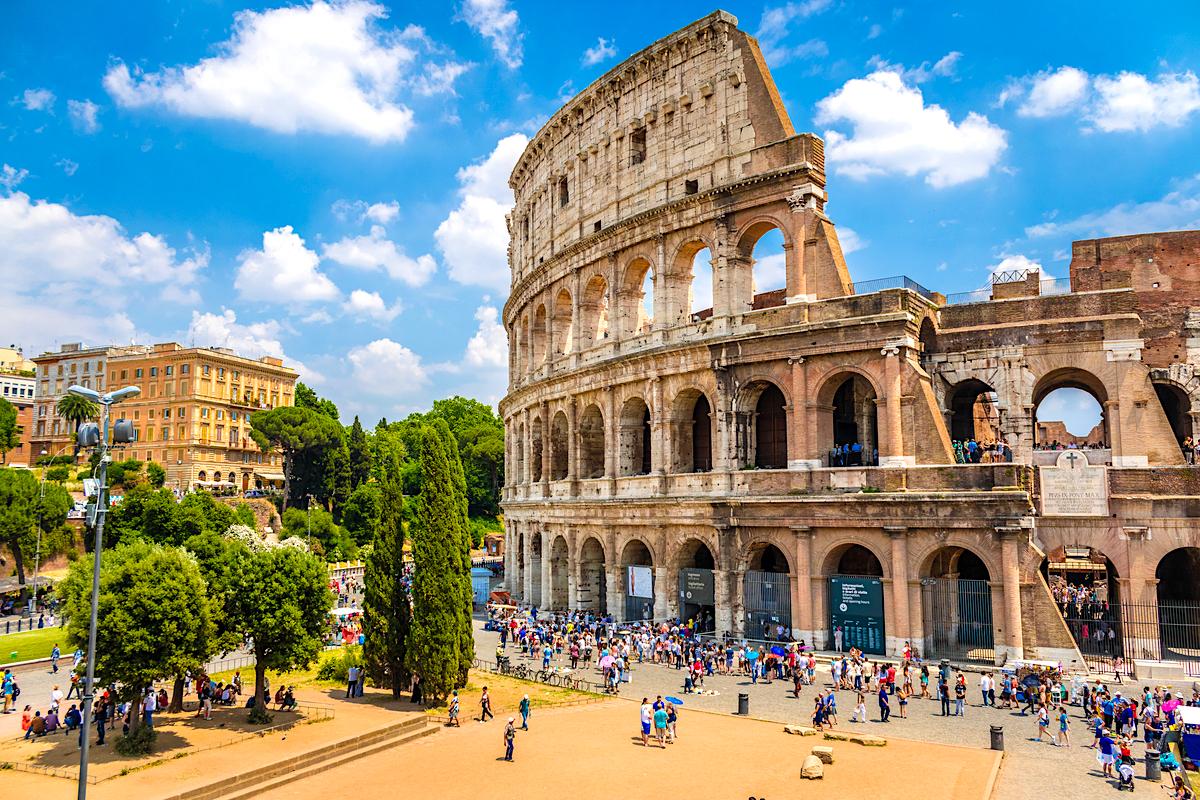 rzym koloseum wlochy roma funclub1