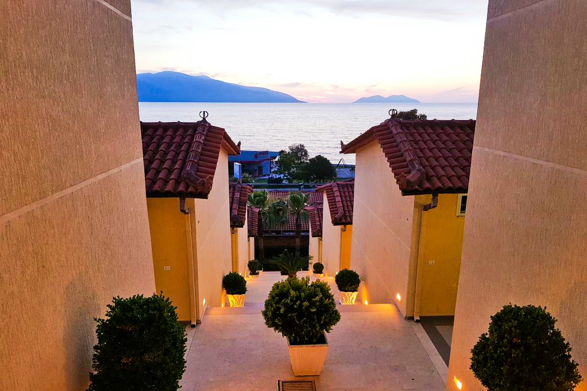 Albania samolotem - Hotel Olympia Village