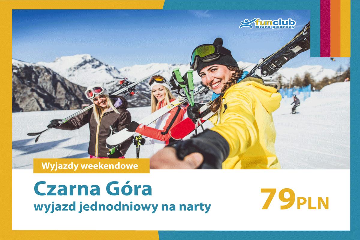Czarna Góra wyjazd jednodniowy na narty