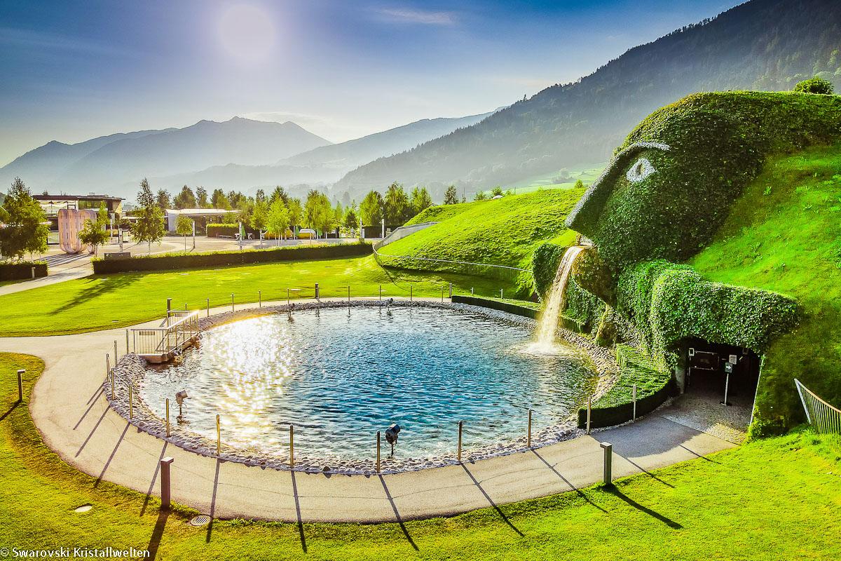 Kryształy Swarovskiego i cesarski Innsbruck