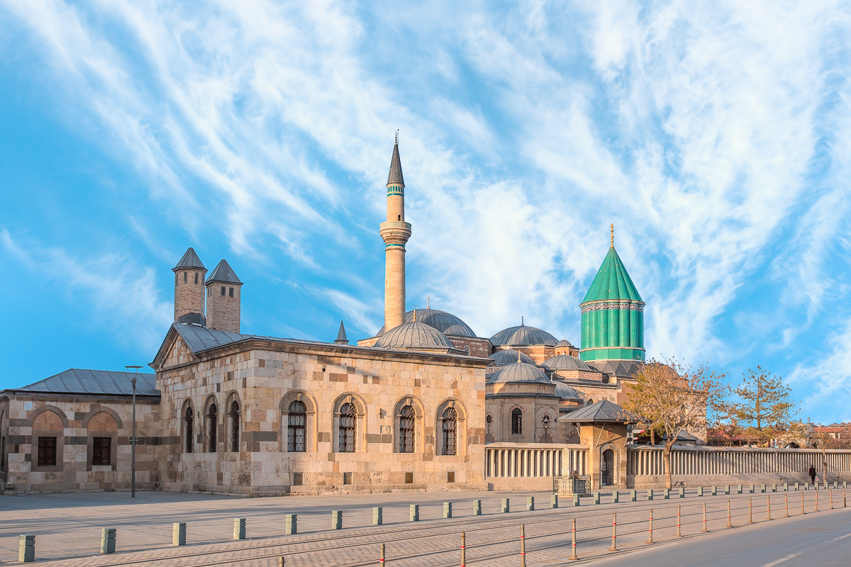 Mevlana,Museum,Mosque,In,Konya,,Turkey