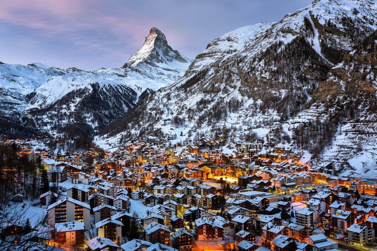 Szwajcaria - Sylwester na  TOP of EUROPE